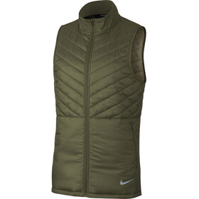 Nike AeroLayer Running Vest Men olive